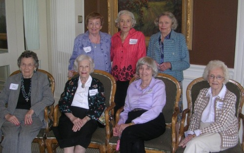 Day Nursery Auxiliary 50 year members May 2007