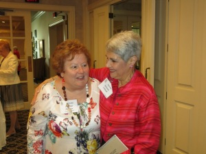 Carolyn Dederer and Yolanda Schmidt