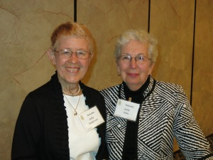 Past Presidents Sally Anderson and Judy Zinn